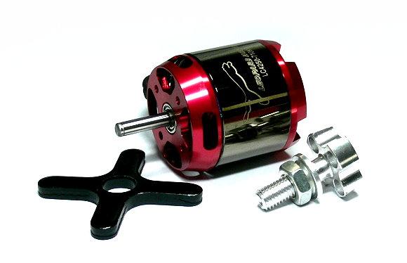 LEOPARD Model 4250 KV710 RC Outrunner Brushless Motor & Propeller Adaptor OM090