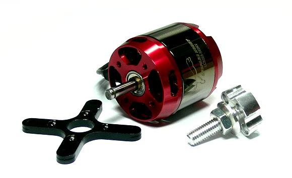 LEOPARD Model 5055 KV560 RC Outrunner Brushless Motor & Propeller Adaptor OM092