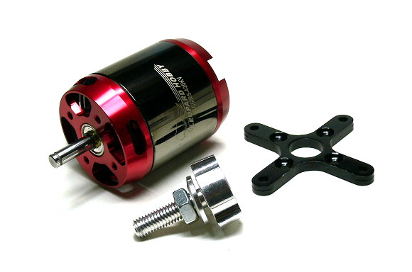 LEOPARD Model 5065 KV430 RC Outrunner Brushless Motor & Propeller Adaptor OM089