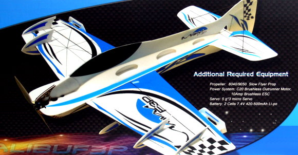 Techone Aircraft R/C Hobby Malibu F3P RC Model 4ch Electric Airplane EA600