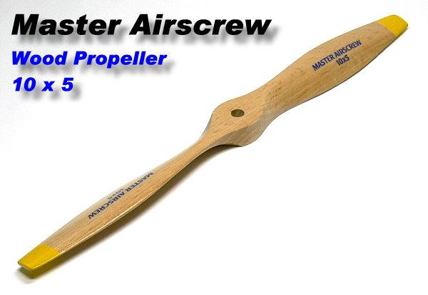 Master Airscrew RC Model Wood Series MA1050B 10 x 5 R/C Airplane Propeller PM722