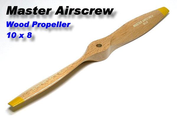 Master Airscrew RC Model Wood Series MA1080B 10 x 8 R/C Airplane Propeller PM725
