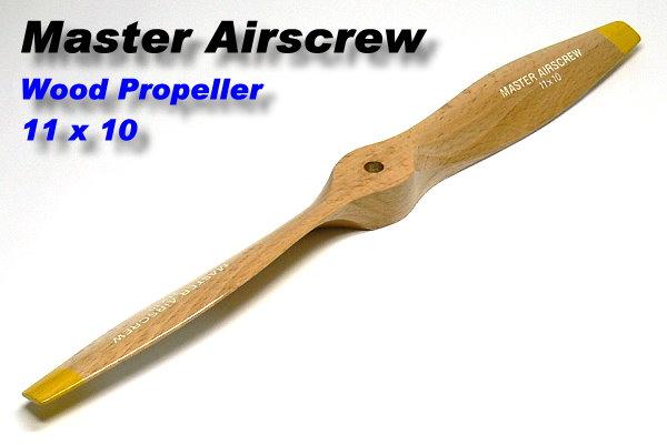 Master Airscrew RC Model Wood Series 11 x 10 R/C Airplane Propeller PM729