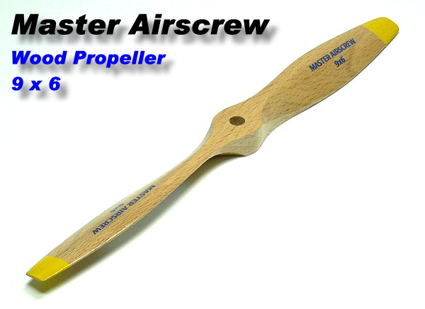 Master Airscrew RC Model Wood Series 9 x 6 R/C Airplane Propeller PM715