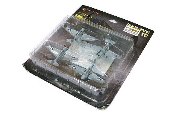 Merit Aircraft Model Airplane 1/200 WWII U.S. TBD-1 Torpedo Bomber 68204 L8204