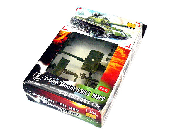 Mini Hobby Models Military Model 1/144 T-54A Model 1951 MBT Hobby 82102 A2102