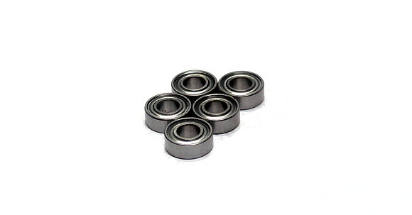 RCS Model MR115ZZ/C Ceramic Ball Bearing (5x11x4mm, 5pcs) CC649