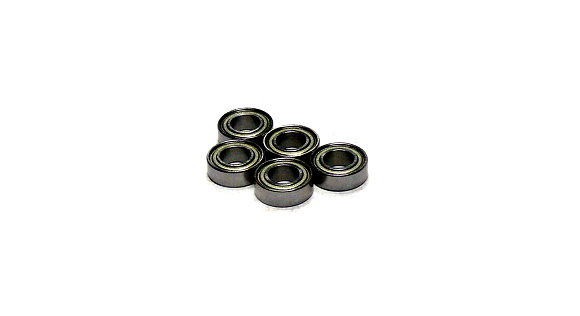 RCS Model MR126ZZ/C Ceramic Ball Bearing (6x12x4mm, 5pcs) CC636
