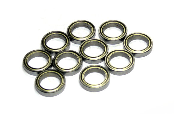 RCS Model MR1319ZZ High Precision Bearing (13x19x4mm, 10pcs) CS719