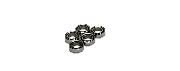 RCS Model MR74/C Ceramic Ball Bearing (4x7x2mm, 5pcs) CC687