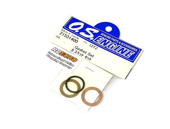 OS ENGINES Parts 21531400 RC Model Gasket Set for 12TZ RG360