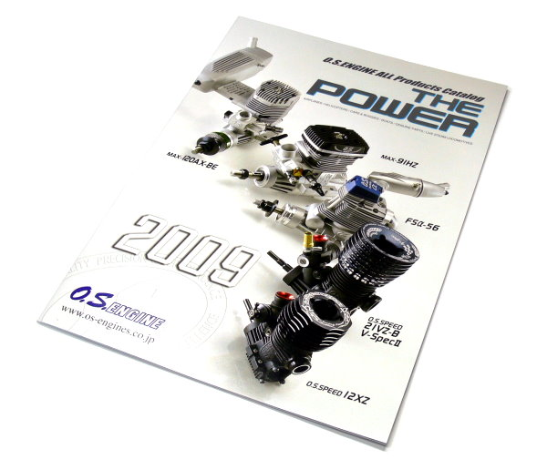 O.S. ENGINE Model Products Catalog 2009 (English) AC030