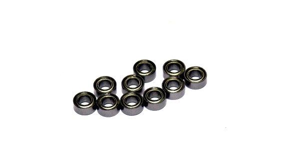 RCS Model R144ZZ High Precision Bearing (3.175x6.35x2.779mm, 10pcs) CS501