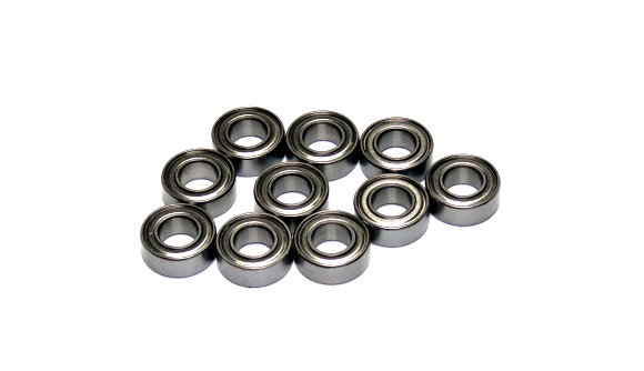 RCS Model R188ZZ High Precision Bearing (6.35x12.7x4.762mm, 10pcs) CS475