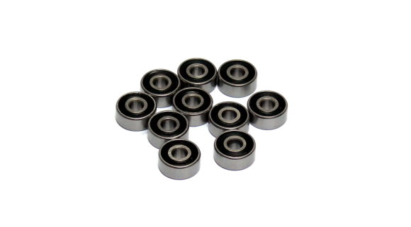 RCS Model R2-2RS High Precision Bearing (3.175x9.525x3.967mm, 10pcs) CS516