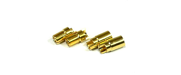 RC Model Outlet AM-1006A 6mm R/C Golden Hobby Metal Connector OT538