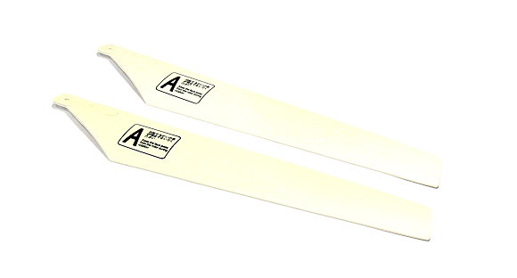 RC Model Outlet S-LM-11 White Main Blade for Helicopter Parts (1pair) OT549