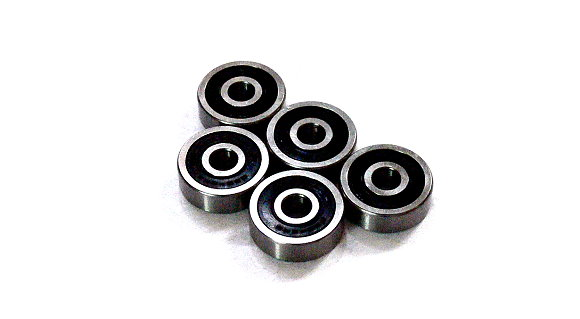 RCS Model 638-2RS/C Ceramic Ball Bearing (8x28x9mm, 5pcs) CC555