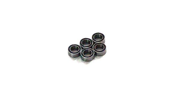 RCS Model R156-2RS/C Ceramic Ball Bearing (4.762x7.938x3.175mm, 5pcs) CC429
