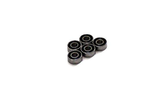RCS Model R3-2RS/C Ceramic Ball Bearing (4.762x15.875x4.978mm, 5pcs) CC451