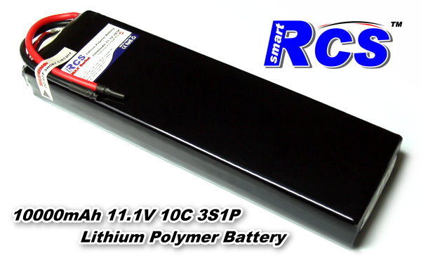 RCS Model 10000mah 11.1v 10C LiPo Li-Polymer Lithium Polymer Battery RB520
