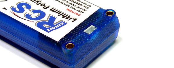 RCS Model 4100mAh 7.4V 25C LiPo Li-Polymer Lithium Polymer Battery RB810