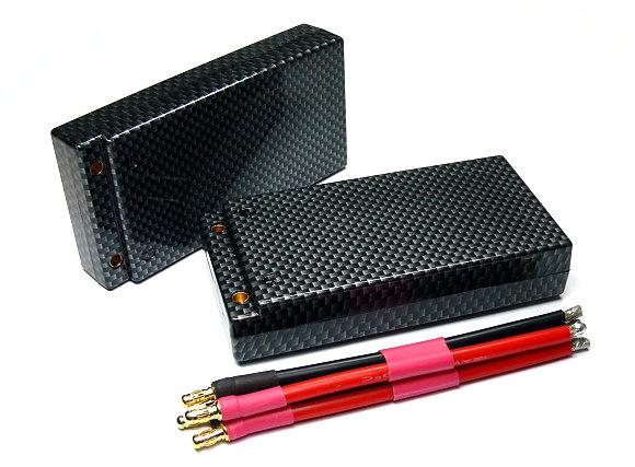 2x RCS Model 5300mah 3.7v 50C Max75C Li-Polymer Lithium Polymer Battery CA163