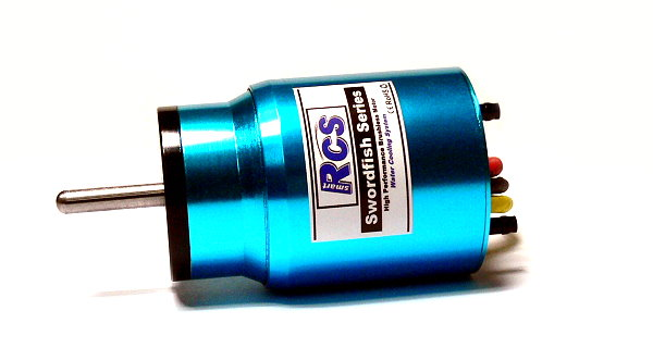 RCS Model Water-Cooled BL3650 KV1500 R/C Hobby Brushless Motor IM510