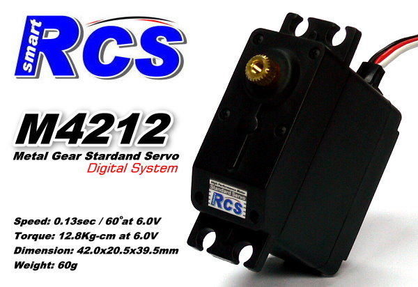 RCS Model M4212 RC Metal Gear R/C Hobby Digital Coreless Servo SS816