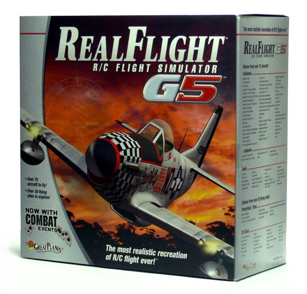 Great Planes G5 RealFlight Simulator & InterLink SR100