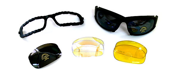 Daisy Military Safety Glasses Kit with Glasses Box GK600