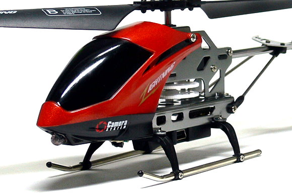 SH Model SPY Camera 3.5ch Gyro Orange R/C Hobby Mini Electric Helicopter EH416