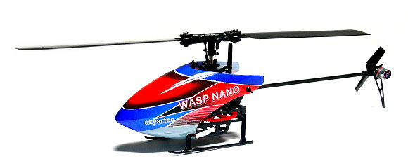 Skyartec RC Wasp 100 Flybarless 3G3X nano cp Brushless Version Helicopter EH005