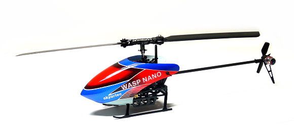 Skyartec RC Model Wasp 100 Flybarless 3G3X nano cp R/C Hobby Helicopter EH004