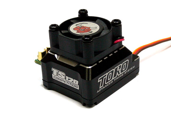 SKYRC TORO Black TS120 Competition RC Sensored Brushless Motor 120A ESC SL715