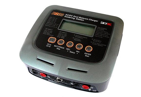 SKYRC RC Model D200 AC/DC Dual Balance Charger / Discharger (EU Plug) BC452