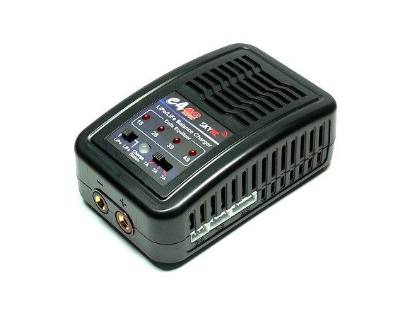 SKYRC Model e4AC 3A 20W LiPo / LiFe 2-4S Balance Charger (UK Plug) BC005