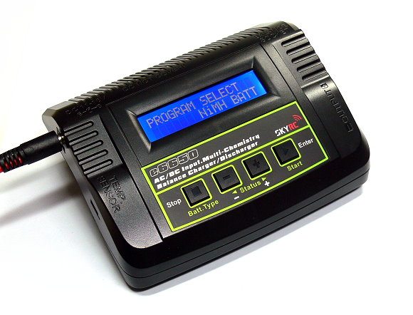 SKYRC Model e6650 AC/DC Input LiPo Li-Polymer Balance Charger / Discharger BC500