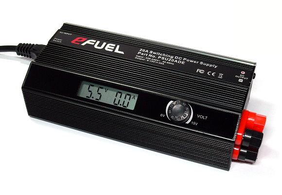 SKYRC eFUEL AC/DC 6-15V 20A Battery Charger Power Supply Adapter (EU Plug) PS695