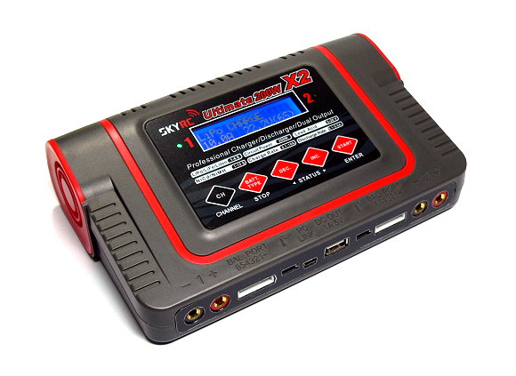 SKYRC Ultimate 400W 10A Dual Output Balance Battery Charger / Discharger BC530
