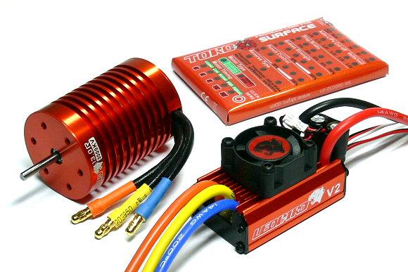 LEOPARD SKYRC 3000KV 13T Brushless Motor & 60A ESC Speed Controller Combo ME714