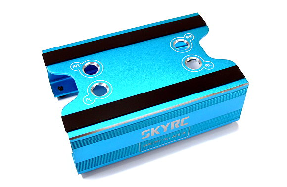 SKYRC RC Model Maintenance Stand (Blue) AC581