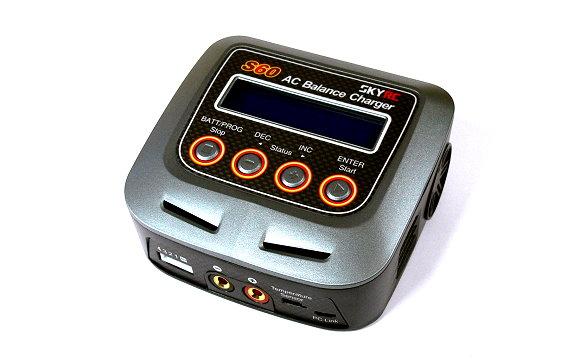 SKYRC RC Model S60 60W 6A AC Balance Charger / Discharger (EU Plug) BC448