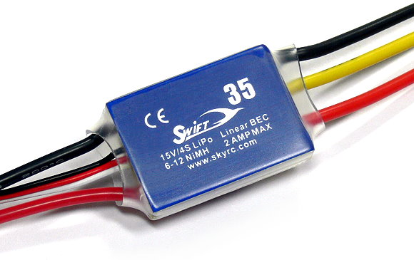 SKYRC Swift RC Model Airplane Brushless Motor 35A ESC Speed Controller SL736