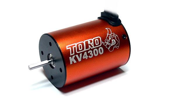 SKYRC TORO RC Model 4300 KV 4 Poles Sensorless Brushless Motor IM760