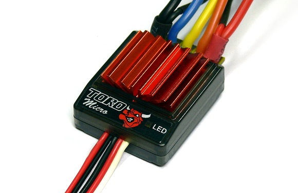 SKYRC TORO Micro RC Sensorless Brushless Motor 25A ESC Speed Controller SL900