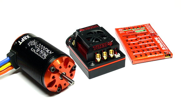 SKYRC TORO 1/8 RC Model Truck X8PT 2000KV Brushless Motor &amp; 150A ESC Combo ME760