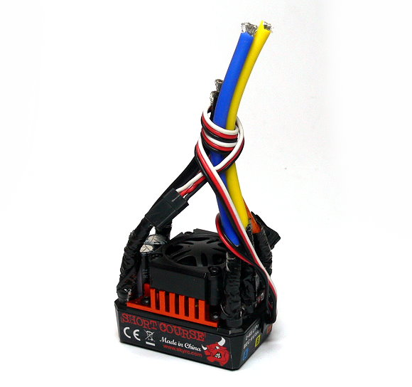 SKYRC TORO SC120 Short Course Brushless Motor 120A ESC Speed Controller (Used)