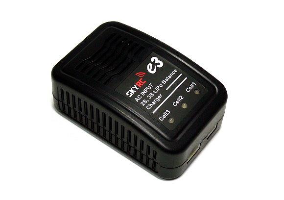 SKYRC Model e3AC 2S 3S Li-polymer LiPo R/C Hobby Balance Charger (UK Plug) BC025