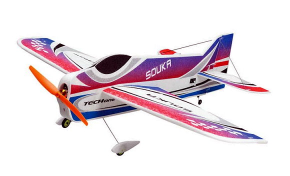 Techone Aircraft R/C Hobby Souka EPP 3D Model 5ch Electric Airplane EA560